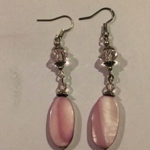 Jewelry - Pink Quartz Earrings